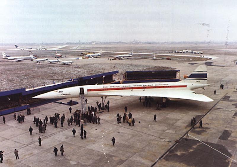 Nguyên mẫu thử nghiệm của Concorde. Ảnh: Wiki.