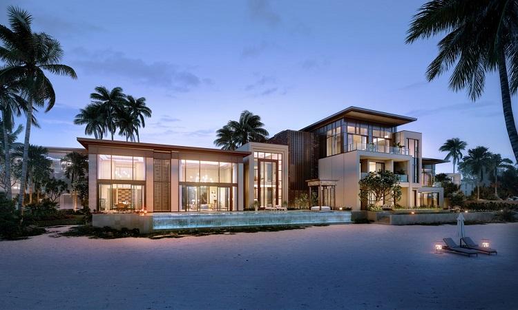 Phối cảnh biệt thự Biển Hạ - Beach Villa.