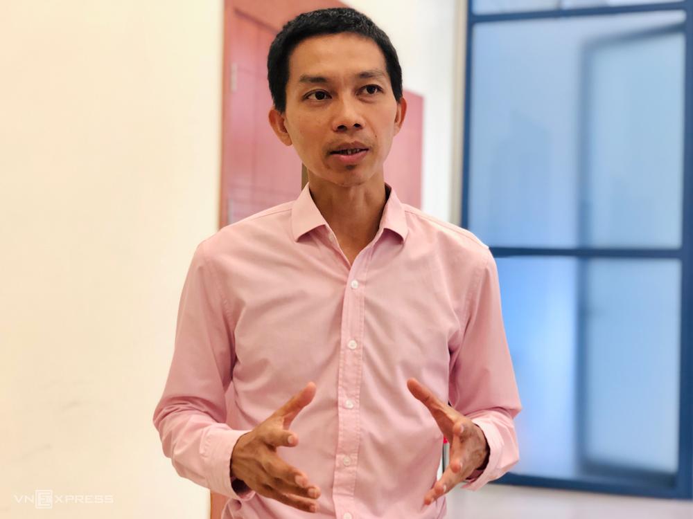 Chuyên gia Nguyễn Đức Thành, cựu Viện trưởng VEPR. Ảnh: Quỳnh Trang.