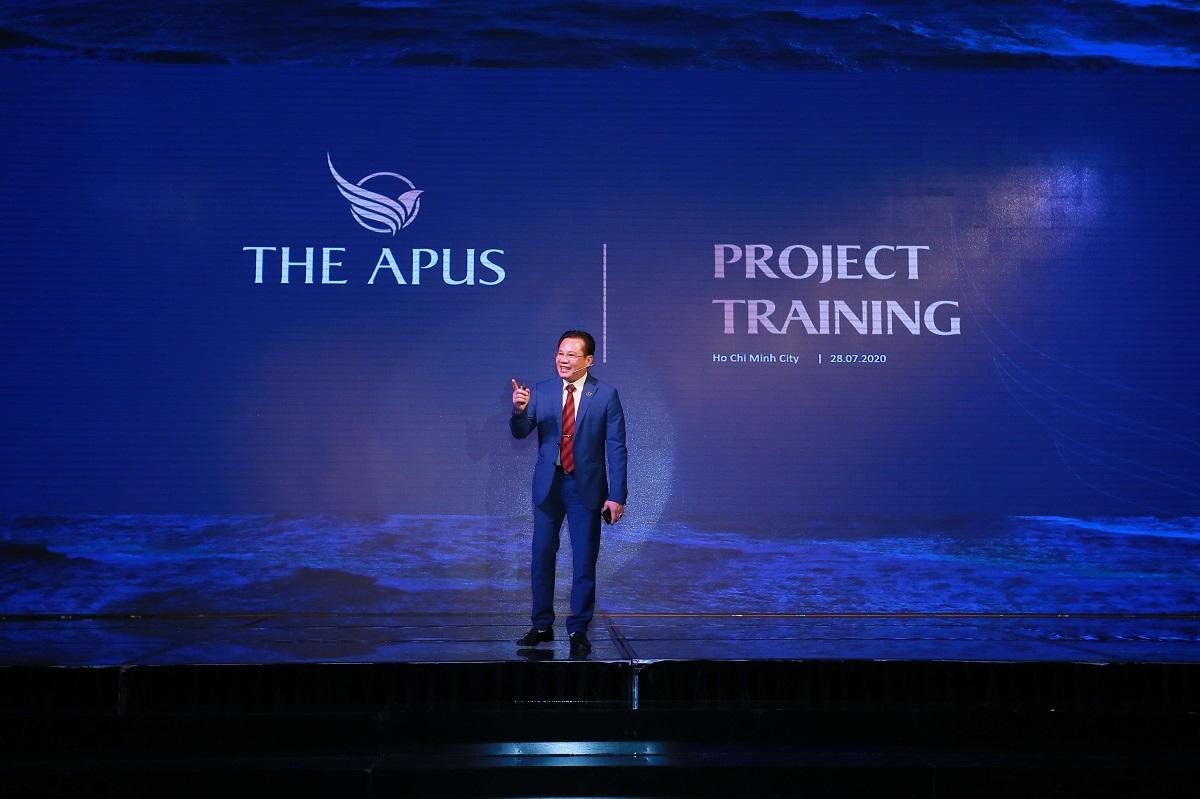 Ông Phạm Công Tuyến - Chủ tịch hội đồng quản trị PPG Holdings phát biểu tại sự kiện.