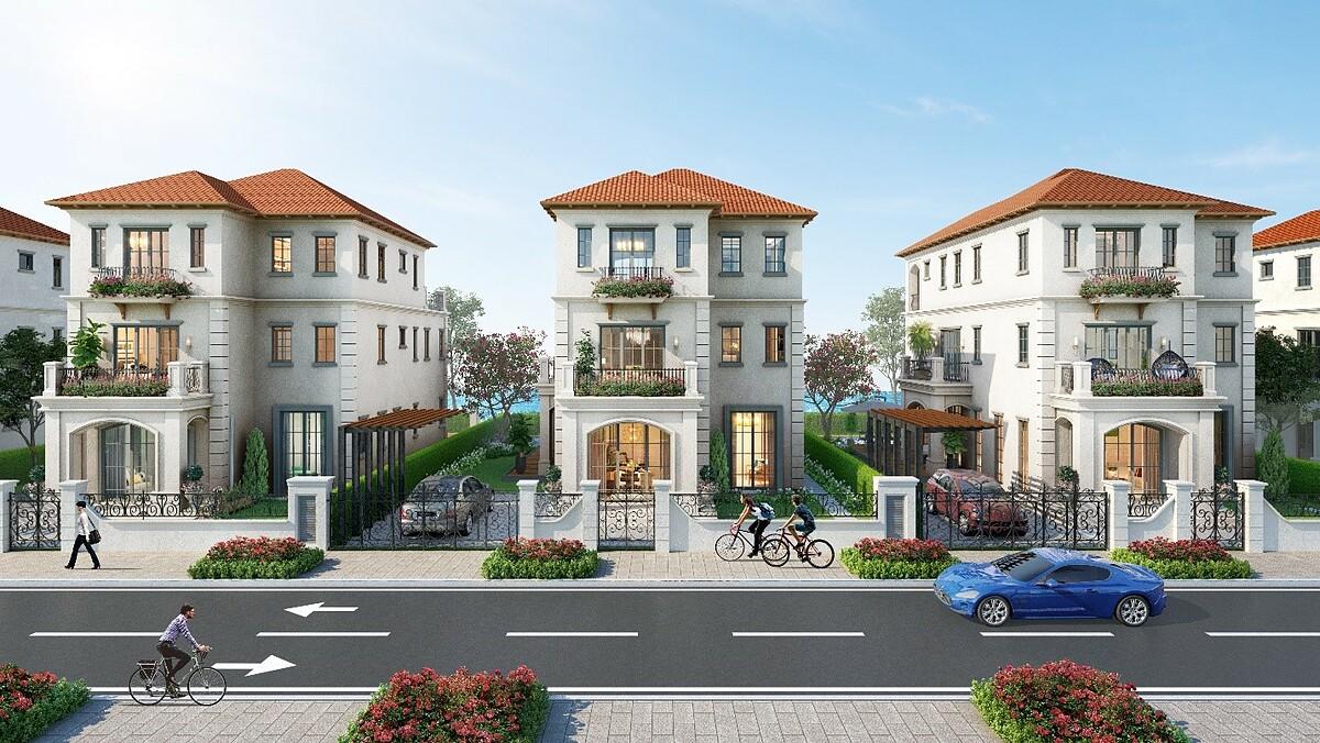 Nhà phố, biệt thự tại các khu đô thị quy hoạch bài bản ngày càng được ưa chuộng.