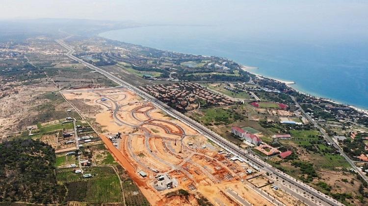 Mũi Né Summerland đã hoàn thiện hạ tầng dự án và có sổ đỏ riêng từng sản phẩm.