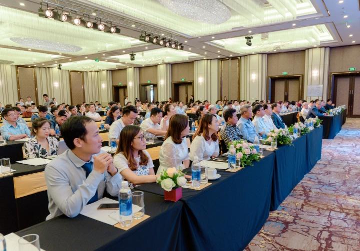 Sự kiện thu hút nhiều đại diện doanh nghiệp tại Hải Phòng.