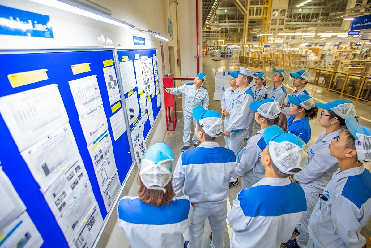 Nhà máy Daikin Việt Nam hướng đến những giá trị lâu bền và thúc đẩy sự phát triển tại Việt Nam.