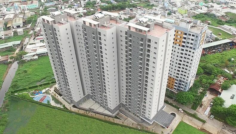 Toàn cảnh căn hộ An Gia Star Quận Bình Tân. Ảnh: Ricons.