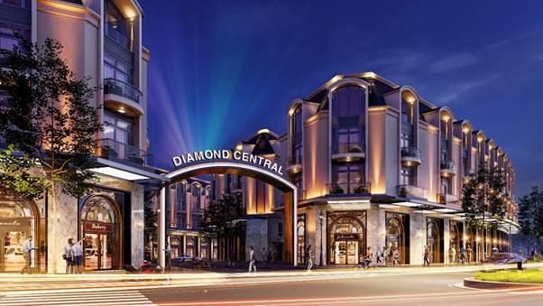 Lấy tên gọi Diamond Central - dự án nhà phố 2 mặt tiền đầu tiên góp mặt tại trung tâm thành phố Biên Hòa, Gotec Land khẳng định tiềm lực và khát vọng mang những chốn an cư chất lượng đến tay người tiêu dùng.