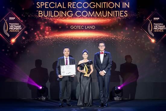 Gotec Land nhận loạt giải thưởng tại Vietnam Property Awards 2019 với hạng mục Best Boutique Developer (Nhà phát triển dự án phân khúc hạng trung tốt nhất) và Best Mid End Condo Development (Dự án căn hộ hạng trung tốt nhất tại TP HCM) cho khu căn hộ Saigon Asiana (quận 6, TP HCM).