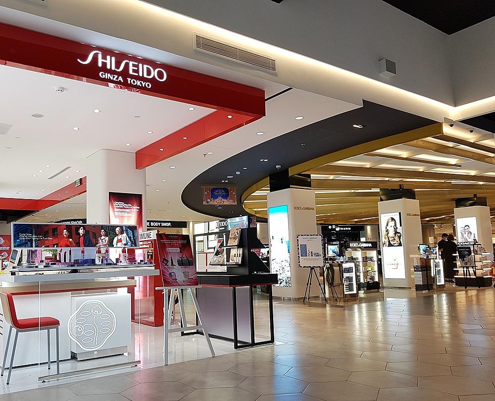 Tầng 1 trung tâm thương mại Parkson Saigontourist Plaza
