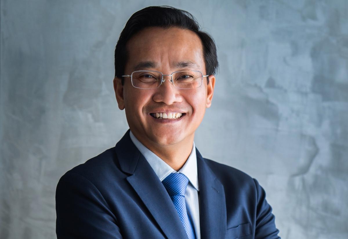 Ông Võ Thanh Liêm - Quyền Tổng giám đốc mới của Coteccons. Ảnh: CTD.