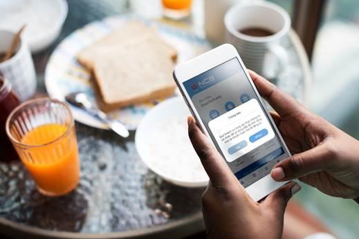 Khách hàng mở tài khoản trực tuyến bằng NCB iziMobile.