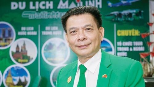 Chủ tịch HĐQT Tập đoàn Mai Linh - ông Hồ Huy. Ảnh: Mai Linh.