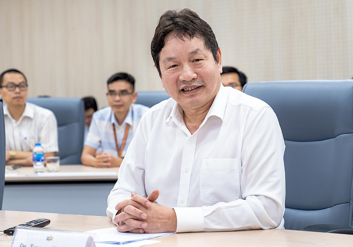 Ông Trương Gia Bình - Chủ tịch FPT. Ảnh: Vân Anh.