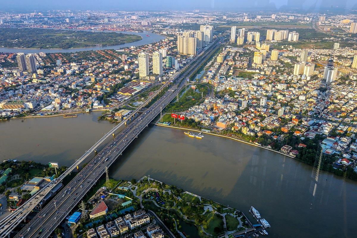Dòng vốn đầu tư căn hộ dịch chuyển ra vùng giáp ranh Đông Sài Gòn. Ảnh: Quỳnh Trần.