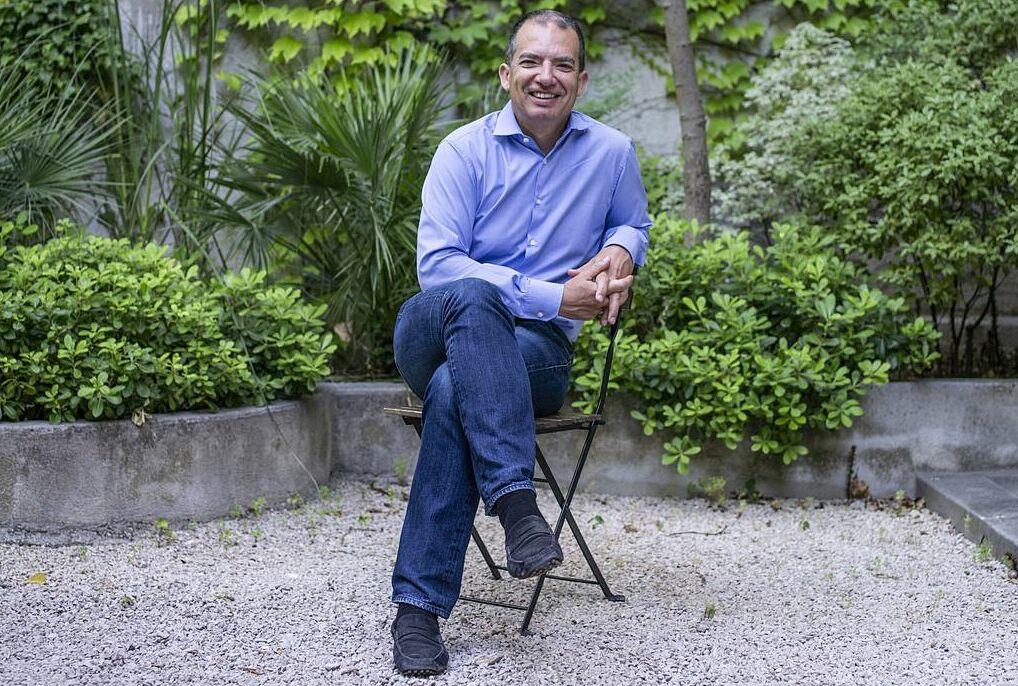 CEO Moderna Stéphane Bancel. Ảnh: WSJ