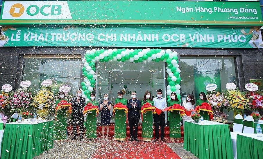 OCB khai trương chi nhánh đầu tiên tại tỉnh Vĩnh Phúc.