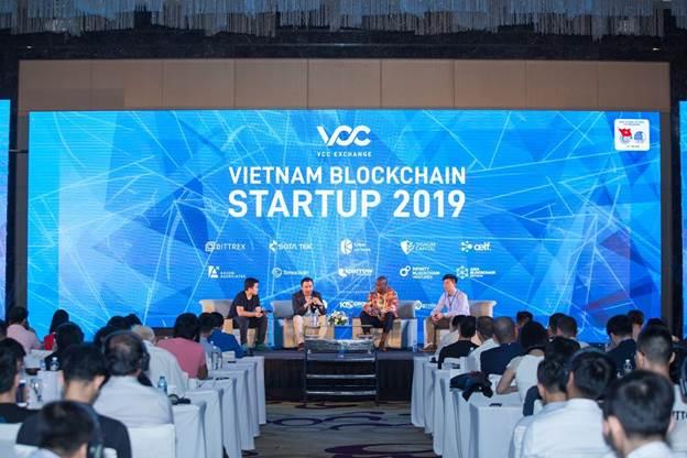 Sự kiện Vietnam Blockchain Startup 2019 do VCC Exchange tổ chức.