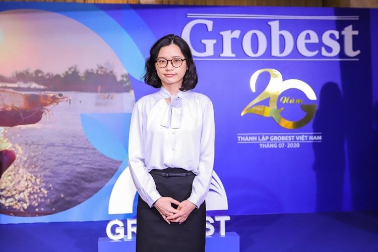 Bà Emma Li, Phó trưởng bộ phận công thức Grobest.