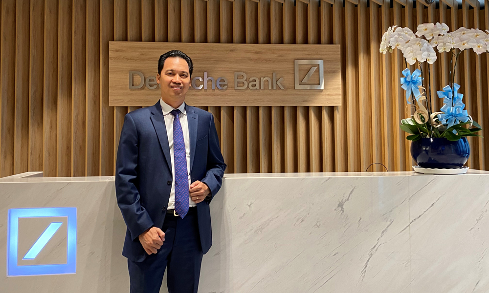 Ông Huỳnh Bửu Quang, quyền Tổng giám đốc Deutsche Bank Việt Nam. Ảnh: Deutsche Bank Việt Nam
