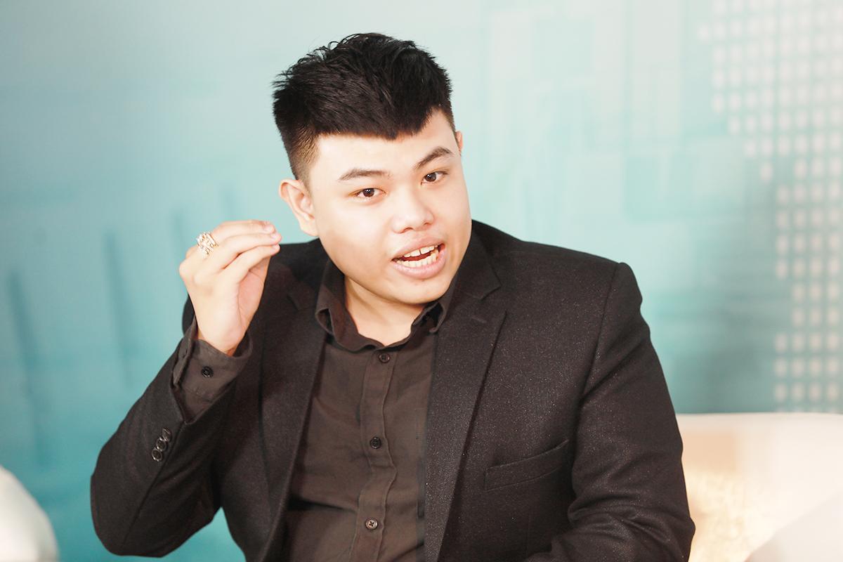 Ông Lê Song Song Ngọc - Đồng sáng lập Cộng đồng Hỗ trợ Doanh nghiệp CSC. Ảnh: Hữu Khoa.
