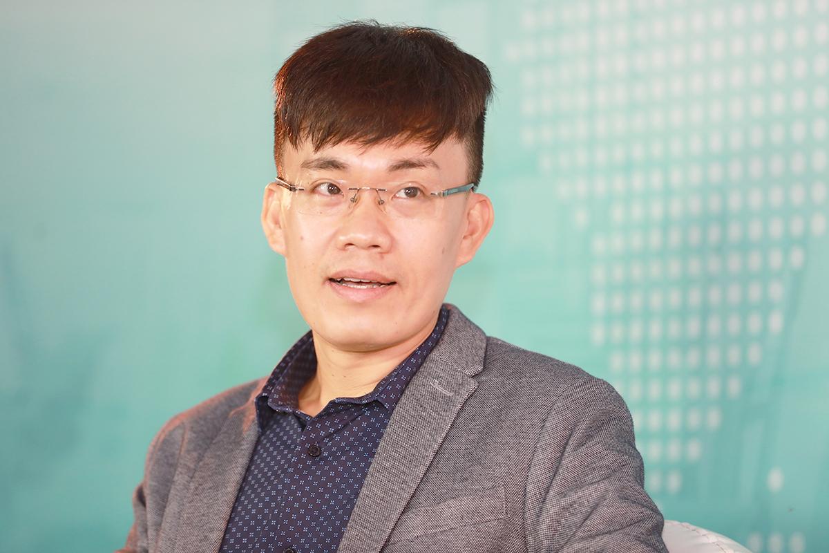 Ông Lê Trọng Hiếu - Giám đốc và Trưởng phòng Dịch vụ Tư vấn - Cho thuê văn phòng và Khu Công nghiệp CBRE Việt Nam. Ảnh: Hữu Khoa.