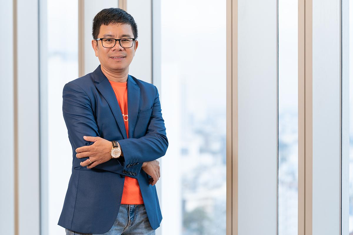 Ông Đinh Liêm Khiết - Giám đốc kho vận Shopee Việt Nam. Ảnh: Shopee.