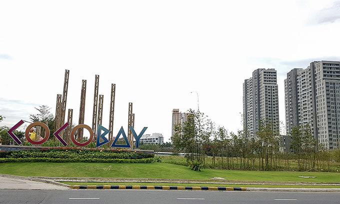 Một góc tổ hợp bất động sản nghỉ dưỡng tại thành phố biển Đà Nẵng. Ảnh:N.Đ.