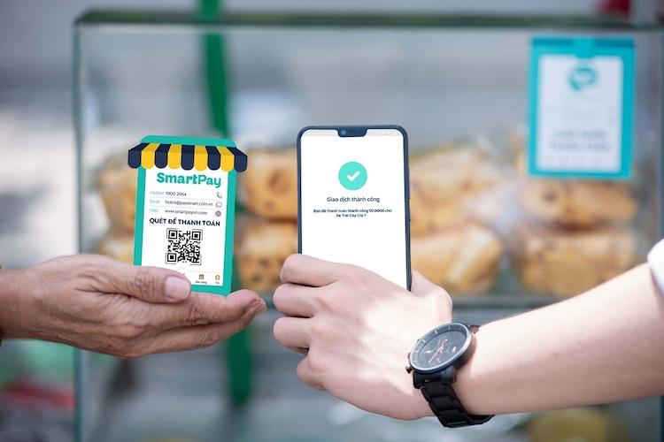 Quét mã thanh toán với SmartPay - Cơ hội nhận ngay 99 triệu đồng, chương trình trợ giúp tiểu thương vực dậy kinh doanh do ảnh hưởng của dịch Covid đang diễn ra trên Ví SmartPay.