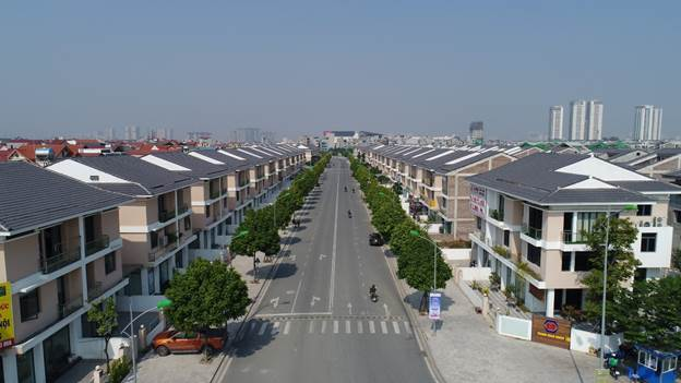 Dự án An Phú Shop-villa sở hữu mặt đường rộng 40m.