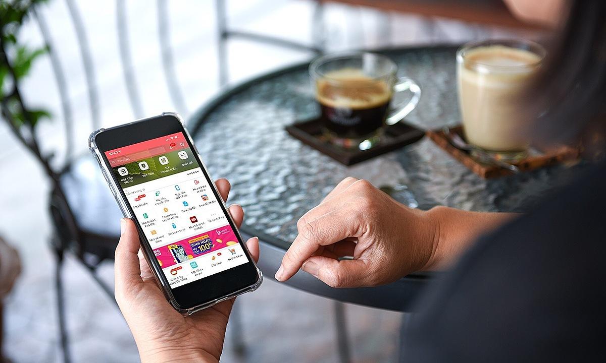 Một giao diện ví điện tử Việt Nam. Ảnh: Trâm Trần.