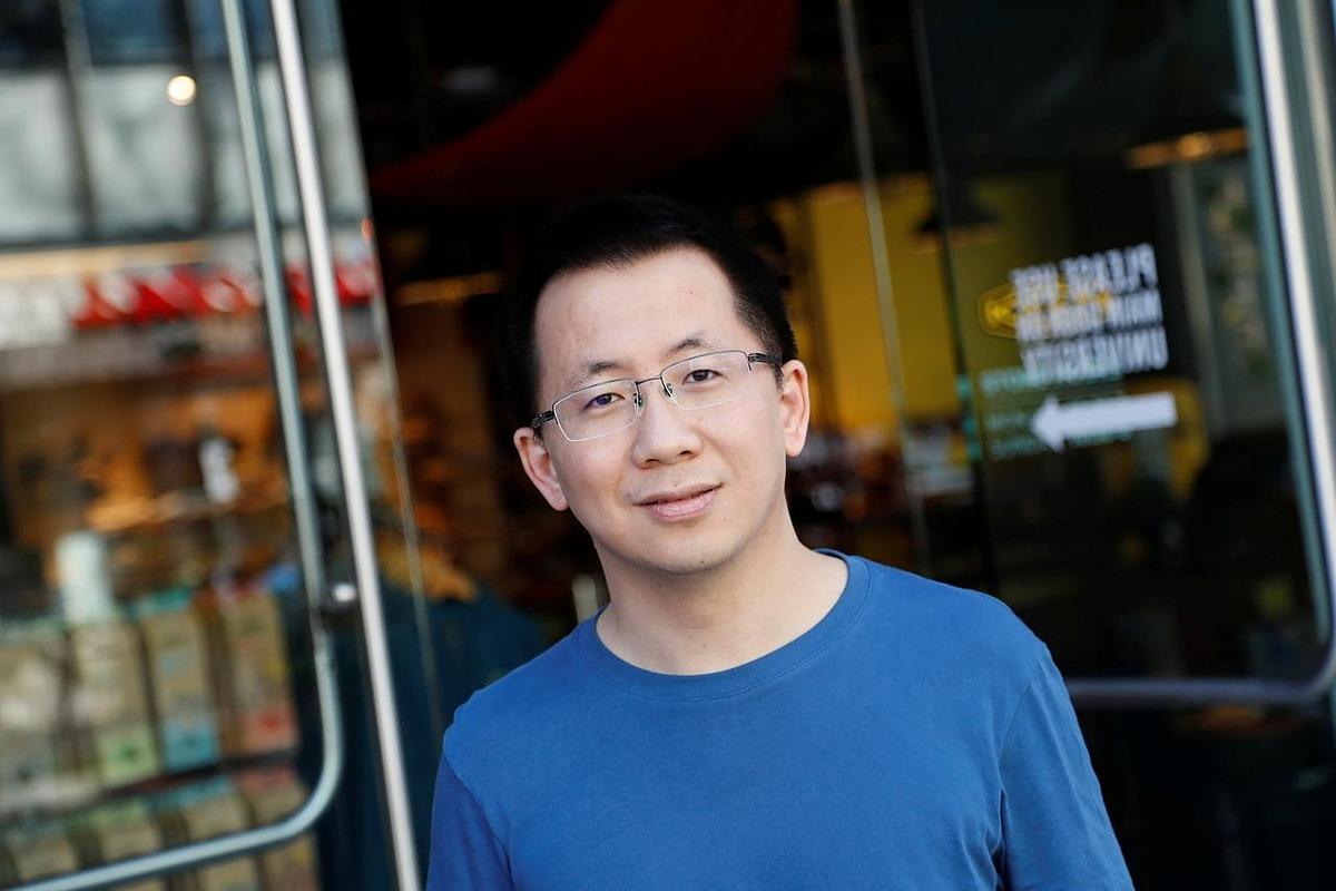 Zhang Yiming, Nhà sáng lập kiêm CEO of ByteDance, tại Palo Alto, California, Mỹ ngày 4/3/2020. Ảnh: Reuters.