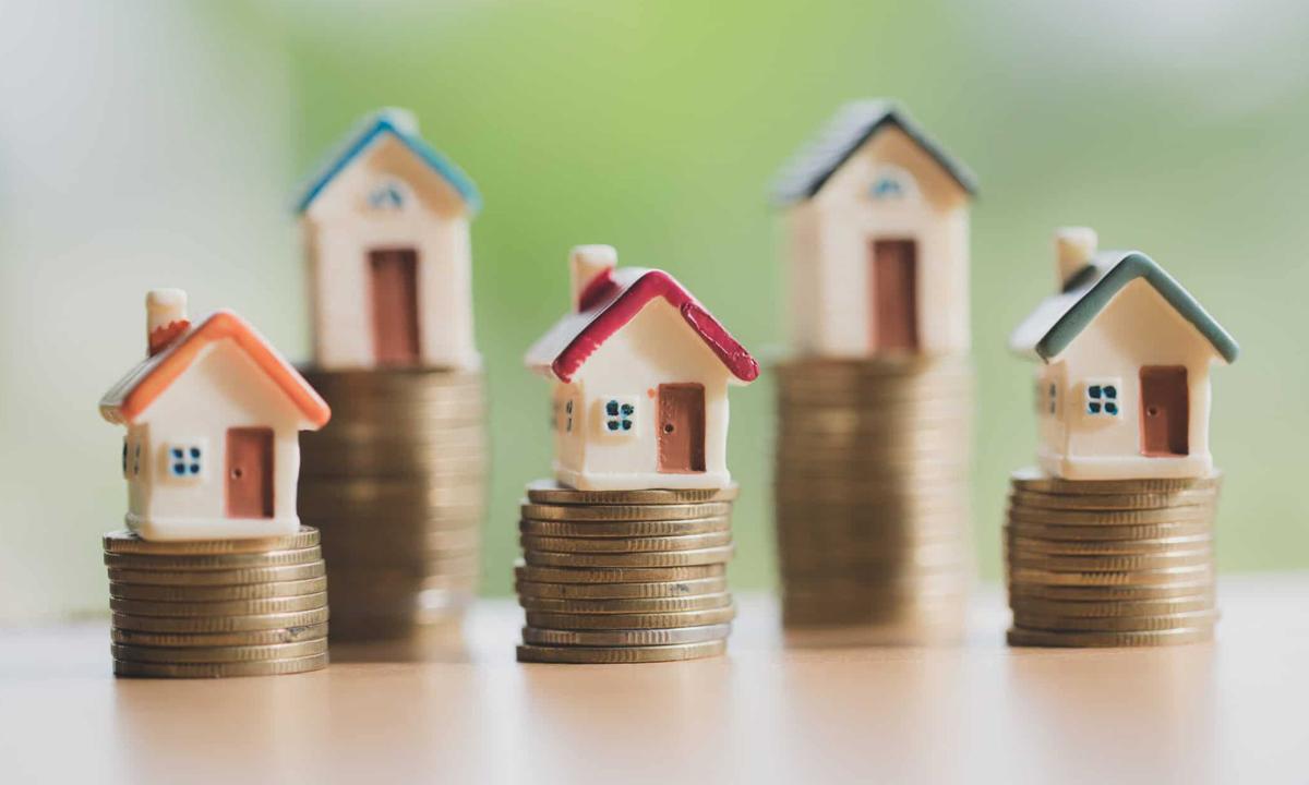 Minh họa mô hình đầu tư bất động sản. Ảnh:Moneycrashers.