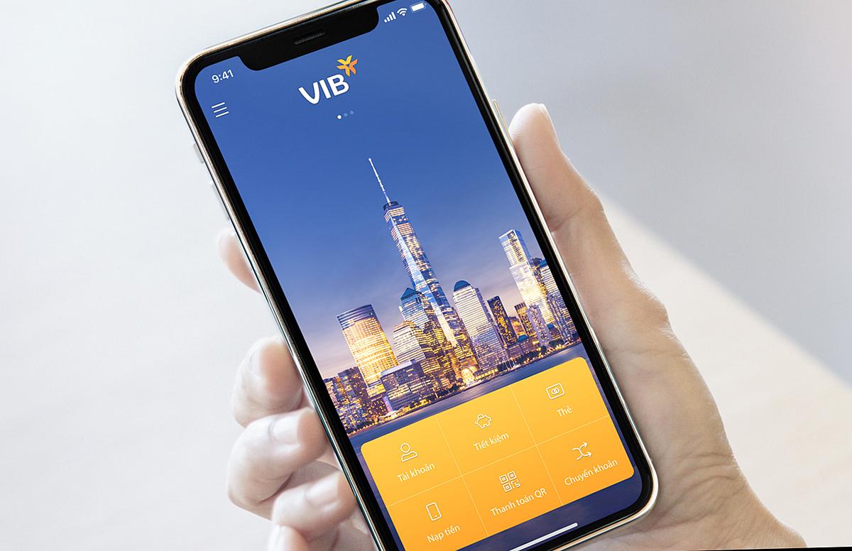 VIB công bố phiên bản nâng cấp MyVIB với loạt tính năng và công nghệ mới gia tăng trải nghiệm người dùng. Ảnh: VIB.