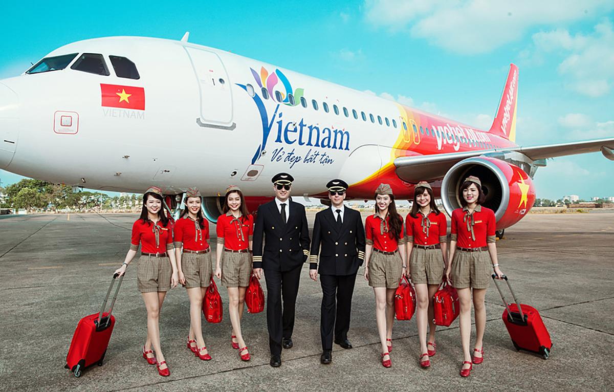 Vietjet đẩy mạnh đường bay nội địa nhằm đáp ứng nhu cầu đi lại của người dân và du khách trong nước. Ảnh: Vietjet.