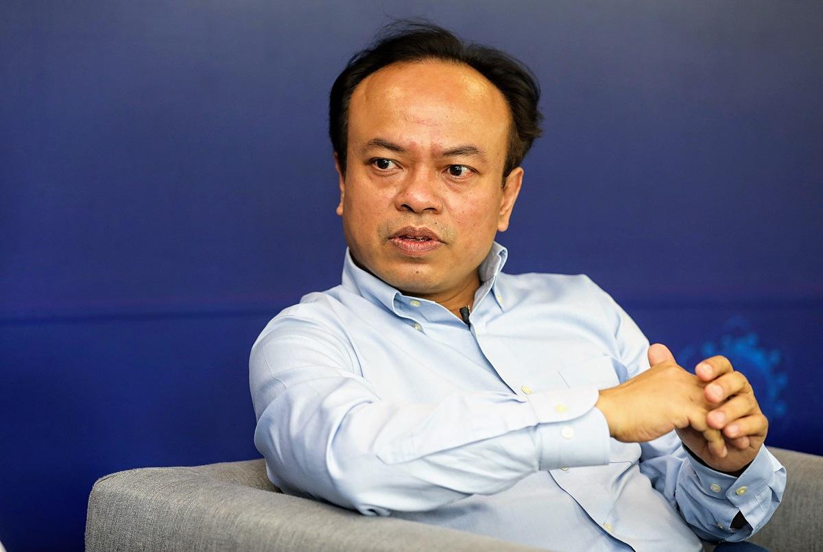 Ông Nguyễn An Nguyên - Nhà sáng lập, CEO Trusting Social. Ảnh: Quỳnh Trần.