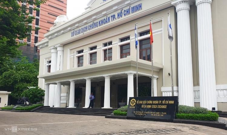 Toà nhà Sở Giao dịch chứng khoán TP HCM tại quận 1, TP HCM. Ảnh: Phương Đông.