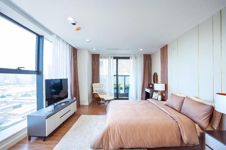 Căn hộ lớn 3-4 phòng ngủ tại dự án Sunshine Center có thiết kế thông thoáng.