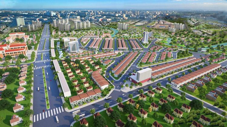 Khu đô thị B-New Center giao thông được quy hoạch theo mô hình ô bàn cờ giúp lưu thông thuận tiện