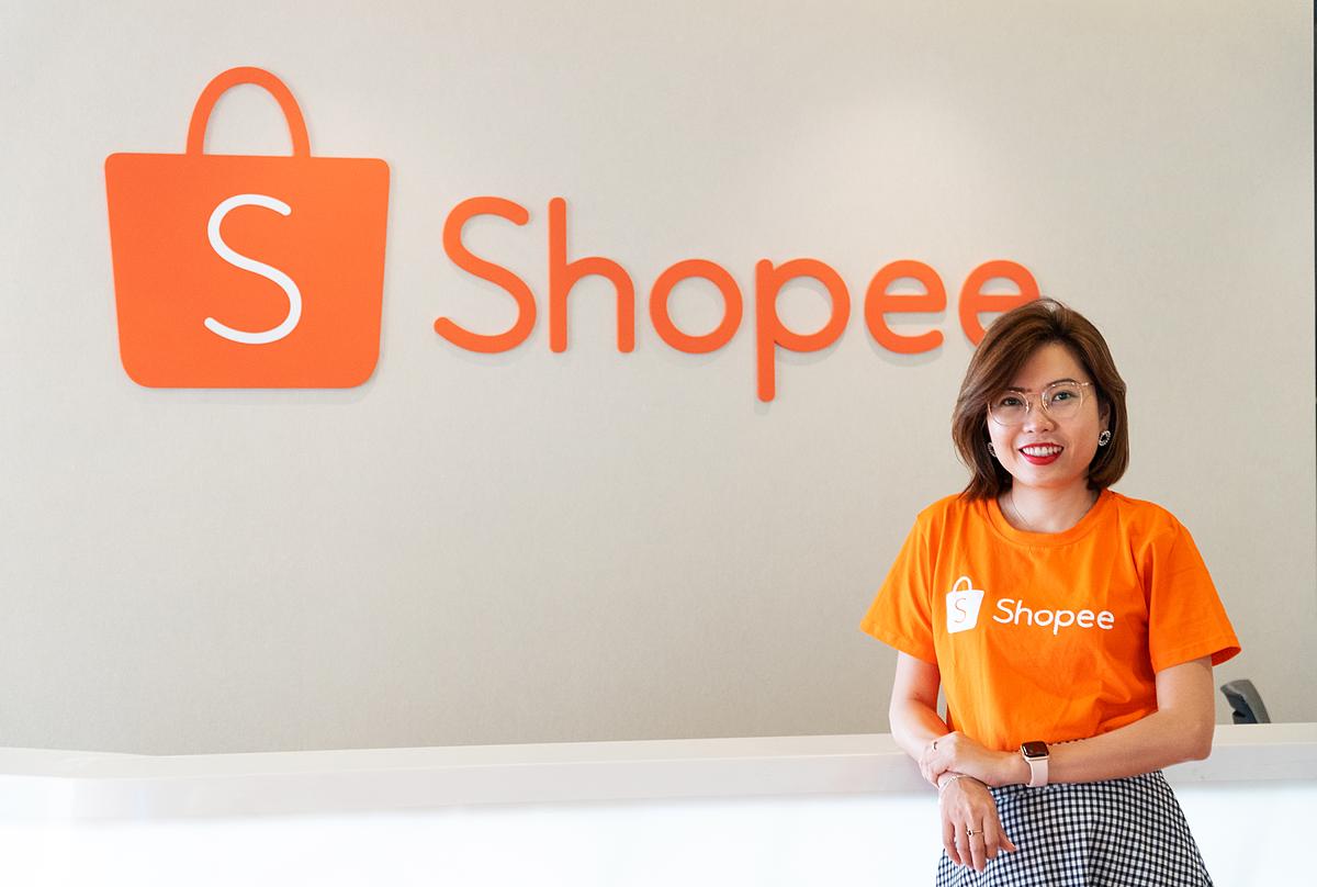 Bà Vũ Thanh Quỳnh - Giám đốc Truyền thông của Shopee Việt Nam.