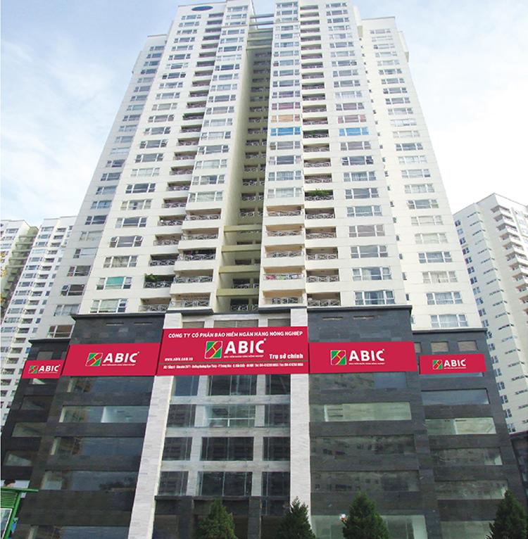 Một trụ sở làm việc của Công ty bảo hiểm Agribank.