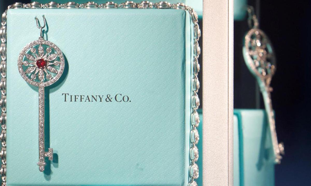 Một món đồ trang sức của Tiffany. Ảnh: Reuters.