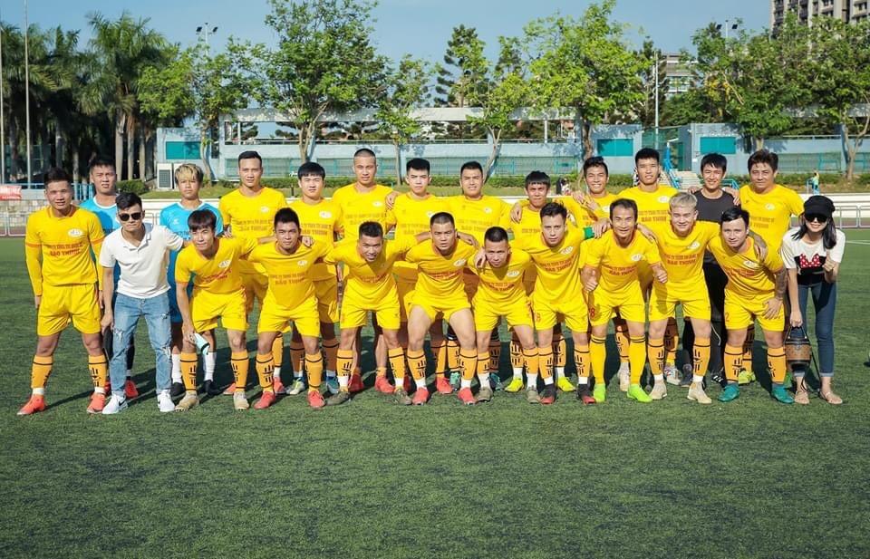 Công ty Bảo Thịnh tài trợ tổ chức giải bóng đá cho lao động Việt Nam tại Đài Loan.