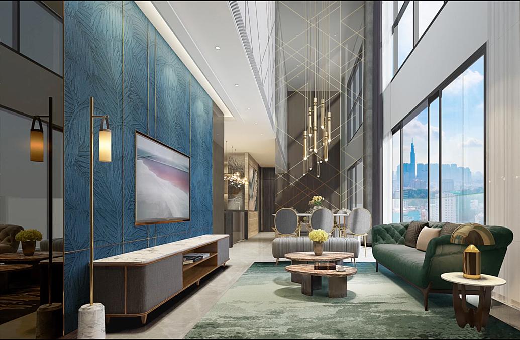 The Marq được đánh giá cao về phong cách kiến trúc và thiết kế nội thất. Ảnh: Hùng Thịnh.