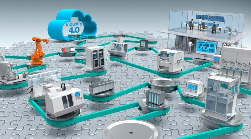 Mô hình nhà máy thông minh giúp doanh nghiệp hỗ trợ nâng cao hiệu quả.