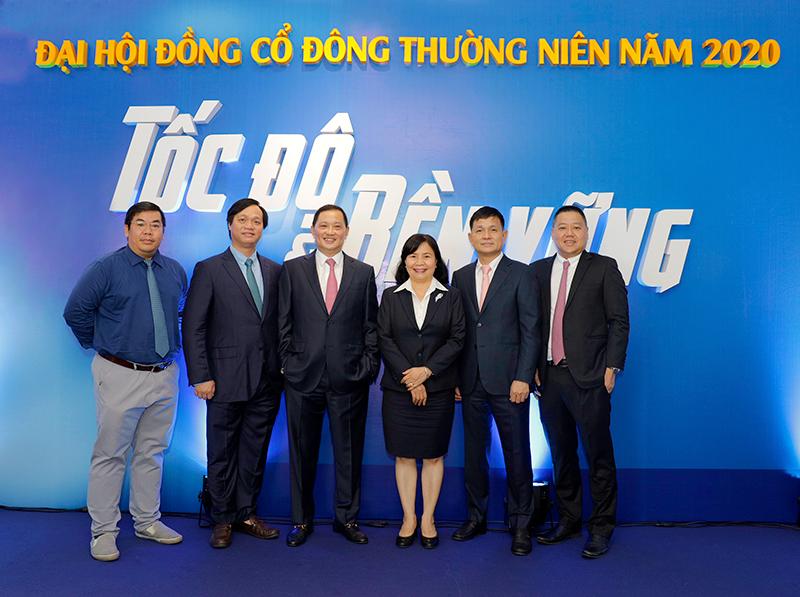 Đại hội cổ đông năm 2020 của Phát Đạt đặt mục tiêu lợi nhuận luỹ kế trên 11.850 tỷ đồng cho 5 năm, tỷ lệ tăng trưởng trung bình hằng năm trên 38%. Ảnh: Phát Đạt.
