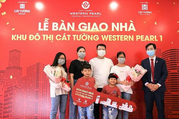 Lễ bàn giao nhà cho khách hàng dự án khu đô thị Cát Tường Western Pearl