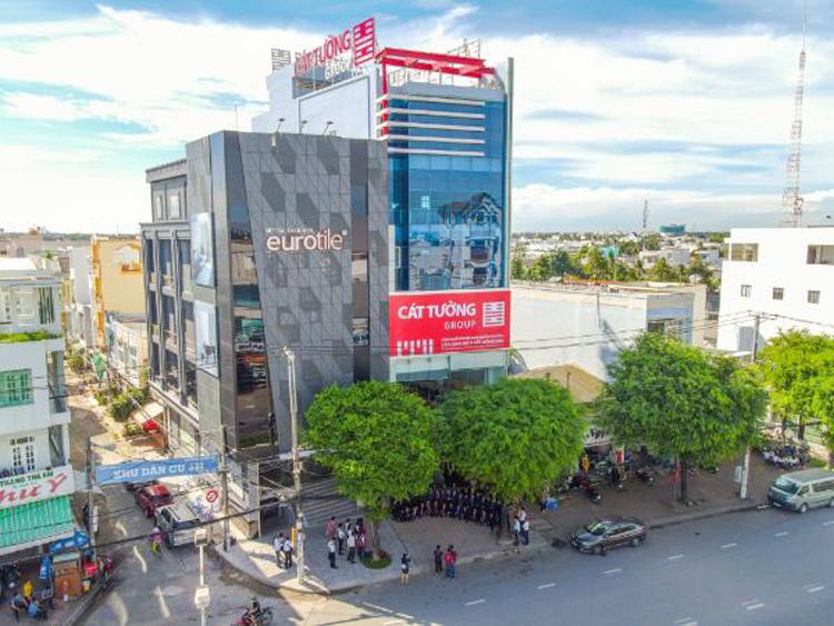 Trung tâm giao dịch bất động sản Cát Tường Group tại Cần Thơ.