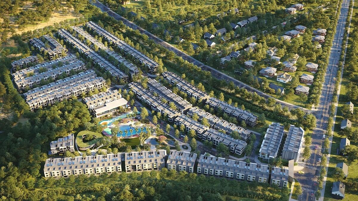 Giới doanh nhân Việt Nam ngày càng ưa chuộng không gian sống trong các khu biệt lậpẢnh phối cảnh The Standard Central Park: An Gia.