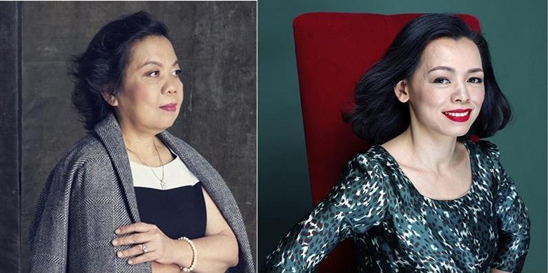 Bà Trương Thị Lệ Khanh (trái) và bà Nguyễn Bạch Điệp (phải). Ảnh: Forbes