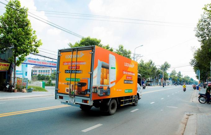 Logivan xây dựng mô hình kết nối doanh nghiệp và chủ xe tải. Ảnh: Logivan.
