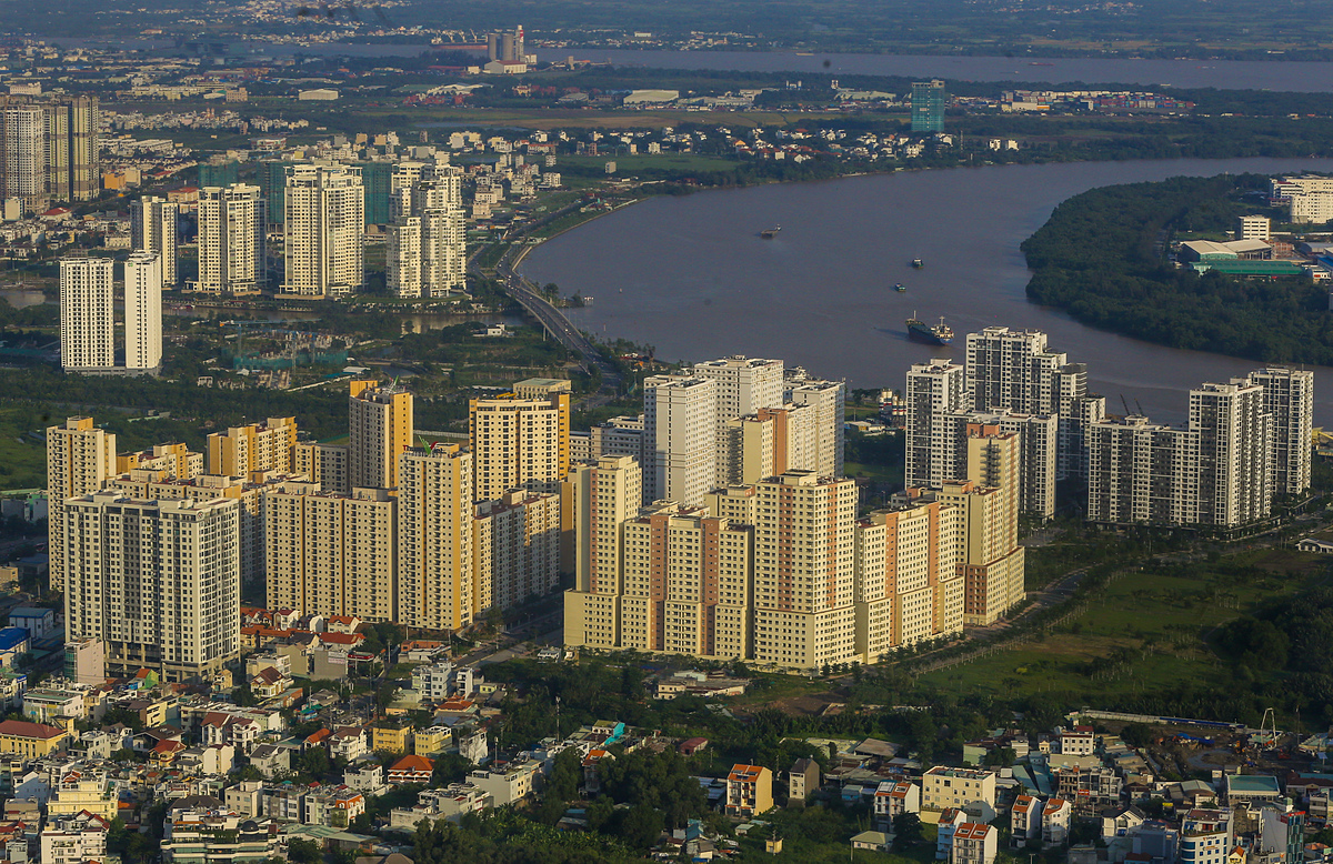 Bất động sản khu đông TP HCM. Ảnh: Quỳnh Trần.
